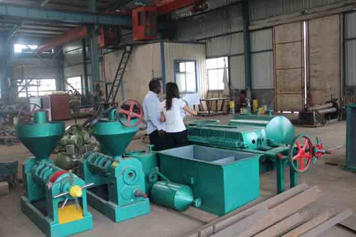 尼日利亚客户案例-大豆油生产线