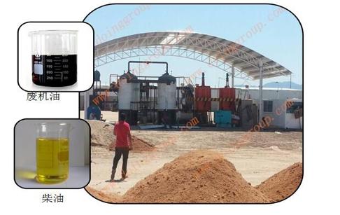 废机油提炼柴油设备项目可行吗?