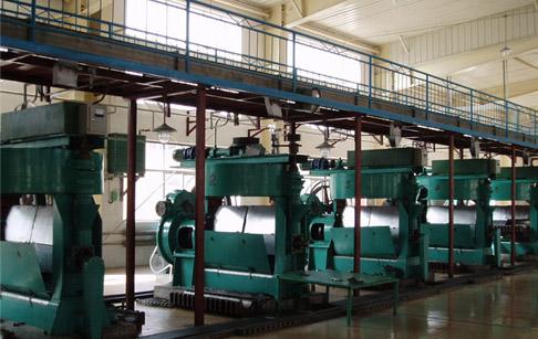米糠油压榨设备