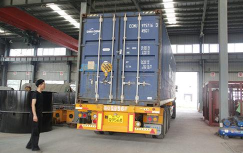 肯尼亚100吨每天食用油精炼分提设备即将发货