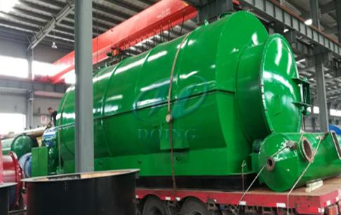 国内山西河津客户成功签订轮胎炼油设备合同