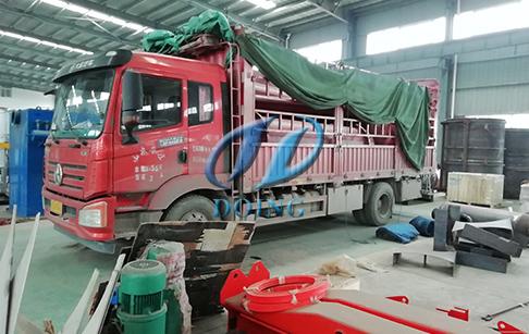 菲律宾废轮胎炼油设备
