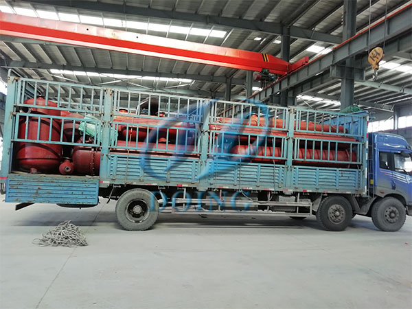 广西废轮胎炼油设备