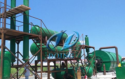 废塑料再生环保炼油装置