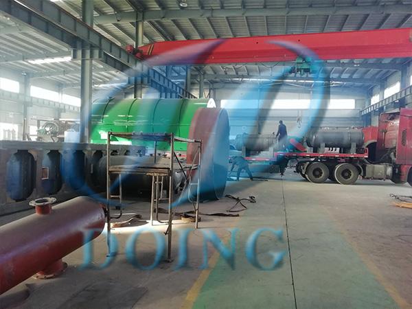 河南省废轮胎炼油设备