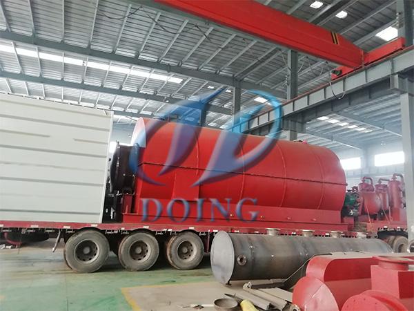 江苏废轮胎炼油设备
