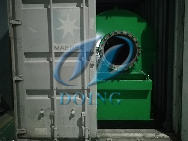 恭喜500kg炼油设备小机组发往瑞士
