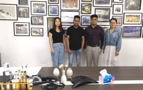 河南东盈迎来一波孟加拉客户的考察
